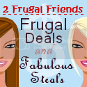 2 Frugal Friends Button