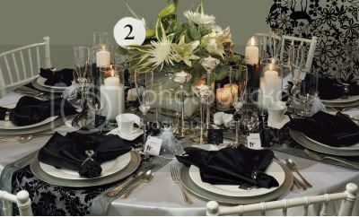 Black Tie Elegance Inspiration to Reality