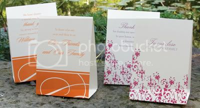 Personalized charity donation tents in assorted styles