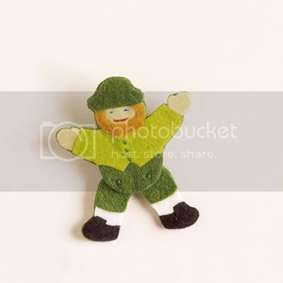 Leprechaun Pin from Better Homes and Gardens
